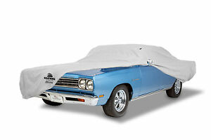 1961-1962 Chevrolet Biscayne & Impala 2DR Custom Fit Grey Superweave Car Cover