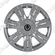 "For 2010-14 Cadillac SRX 18"" 4 Chrome Wheel Skins Hubcaps Covers + CENTER CAPS"