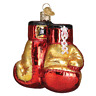 """Boxing Gloves"" (44096)X Old World Christmas Glass Ornament w/ OWC Box"