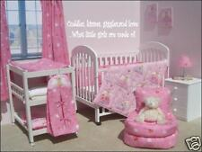 CUDDLES KISSES Wall Art Decal Girls Kids Room Nursery