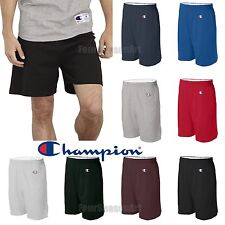 Champion Mens Gym Athletic Basketball Workout Cotton Short S-3XL -8187 NO POCKET