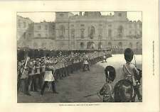 1875 Trooping The Colour Is St James's Park Queen's Birthday