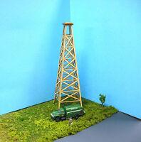 HO Scale Laser Cut Oil Derrick Kit