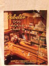 Cabela's Catalog Fishing Tackle Craft 1996 Lure Hook