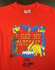 Vintage Mens S 1992 Putt-n-Play Putt-Putt Miniature Golf Birthday Party T-Shirt