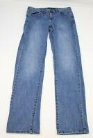Calvin Klein Womens Jeans Skinny Size 12 Blue Denim   32.5 Inseam
