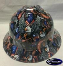 American Eagle MSA V-Gard (Full Brim) Hard Hat W/FasTrac