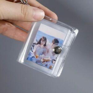 Holder Photo Holder Photo Album Keychain Card Bag 1 2 Inch Card Book Keyring