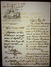 1848 Sociedad de Cataluna in Antilles ~ Signed President Sculptor ANTONIO SOLA