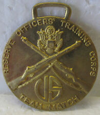 RESERVE OFFICERS' TRAINING CORPS TEAM MATCH MEDAL WITH CROSSED RIFLES