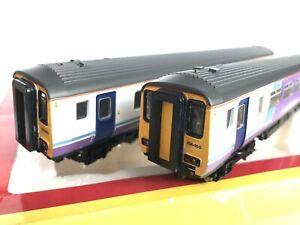 Hornby OO Gauge R2513 Class 156 2 Car DMU in Northern Rail Livery.