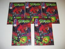 SPAWN COMIC BOOK LOT NC RUN  1 - 69   5 COPIES OF # 1   MISSING ONLY 2 ISSUES
