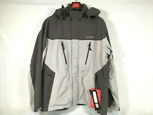 Cortech Brayker Snowmobile Jacket Silver/Gunmetal Men's Size Extra Large XL