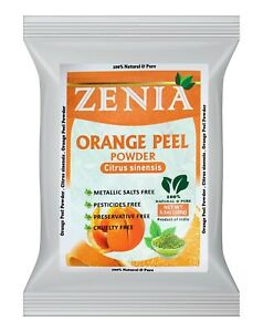 100g Zenia Pure Orange Peel Powder 100% Natural