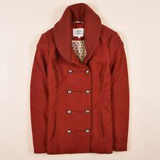 Noa Noa Damen Mantel Jacke Coat Gr.M (DE 38) Kurzmantel Wolle Orangetöne 81772