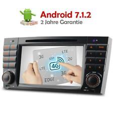 Android 7.1.2 Autoradio DVD GPS BT Mercedes Benz C Klasse C/CLK KLASSE W203 W209