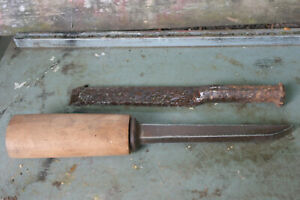 Vintage Stone carving Chisels.