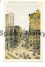 Sparks Street Looking West Ottawa Canada Vintage Postcard A01