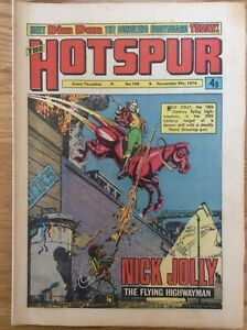 The Hotspur #786 9/11/74 Nick Jolly, Knot Of Courage, DC Thompson UK Comic