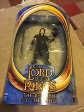 Lord of the Rings Frodo Figure 2003 w/ Goblin Disguise Armor Toy Biz 81302
