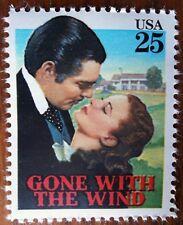 Gone with the Wind Clark Gable Rhett Butler Vivien Leigh Scarlet O'Hara stamp
