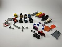 Vintage Micro Machine Vehicle Lot And Misc Pieces