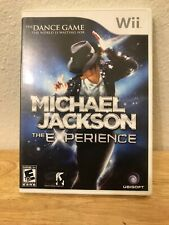 Michael Jackson: The Experience Nintendo 2010 Wii Dance Video Game