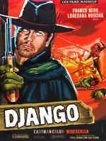 1966 DJANGO VINTAGE WESTERN MOVIE POSTER PRINT STYLE B 24x18 9 MIL PAPER