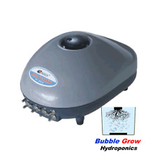 EIGHT 8 AIR PUMP 1200L/H 16W FOR FISH TANK AQUARIUMS OR HYDROPONICS OUTLETS