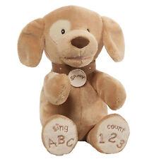 Spunky Dog Tan ABC/123 Teddy Bear G27982
