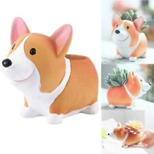 Dog Succulent Cactus Flower Pots Decorative Resin Garden Supplies Planter