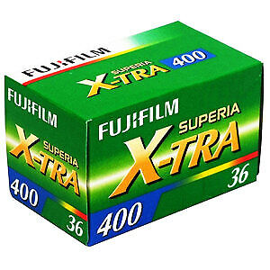 Fujifilm Superia X-TRA 400 36 Exp. 35mm Color Print Film