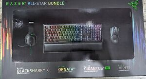 Razer All Star Gaming Bundle Keyboard + Mouse + Pad + Headset