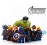 SET 8 PCS - Capitan America Hulk Thor Iron Man Shield  - LEGO AVENGERS