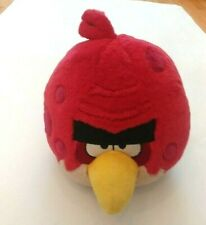 Angry Birds Plush Toy TERENCE Red Big Brother Bird 8'' Large With Sound