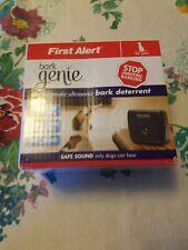New listing First Alert Bark Genie Automatic Ultrasonic Bark Deterrent Used