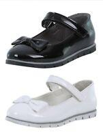 Girls Shoes Ballerina Flat Communion Christening Patent Flower Girl Bridesmaid