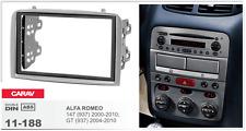 CARAV 11-188 2Din Marco Adaptador Kit de Radio para ALFA ROMEO 147, GT (937)