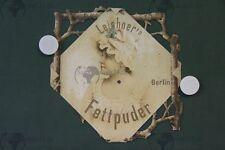 Vecchio ORIG. Pubblicità schlid MANIFESTO Leichner S Grasso CIPRIA Berlino alle 1896