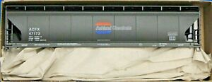 HO Scale - ACCURAIL 2114 ASHLAND CHEMICALS 3-Bay ACF Covered Hopper Car - KIT