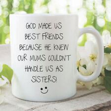 Best Friend Mug Funny Novelty Ceramic Gift Coffee Tea Joke Cup Humour WSDMUG1016