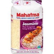 MAHATMA Jasmine Thai Long Grain Rice (2lbs) Naturally Fragrant