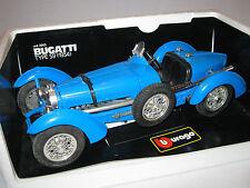 BURAGO 3005 1/18 Bugatti tipo 59 1934-condizioni eccellenti con scatola