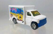 Matchbox Ford Box Truck Spongebob Squarepants White - 1998