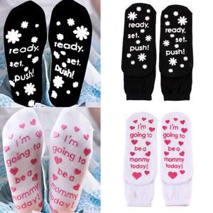 Damen Antirutsch Socken Stoppersocken Noppensocken für Schwanger I'm Going