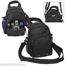 Outdoor Adventure Utility Pouch Sling Pack -  AP7285-Black