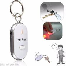FP LED Porte Clé Siffleur Localisateur Lampe Portefeuille Key finder Anti Pert