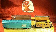 Bachmann Life Like Minitrix Set 4-teilig amerik. Güterwagen 💥Konvolut [0792]