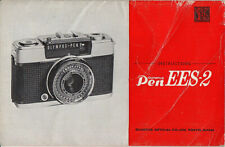 Olympus Instructions for Olympus Pen EES-2, english #su