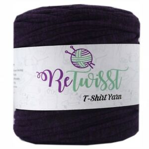 TY169 Retwisst T-shirt Fabric Yarn 120M Cotton Yarn Knitting Crochet Crocheting